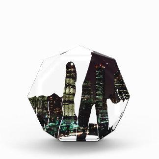 LA hands skyline Acrylic Award