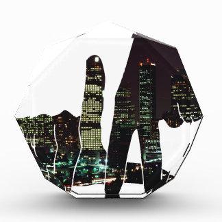 LA hands skyline Award