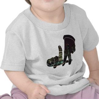 LA hands skyline Baby T-Shirt