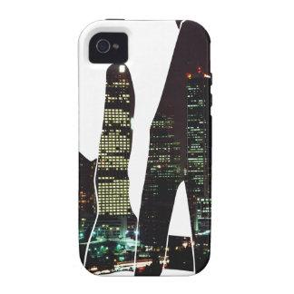 LA hands skyline Case-Mate iPhone 4 Case