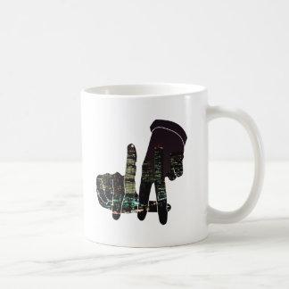LA hands skyline Coffee Mug