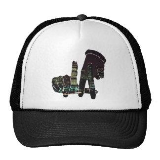 LA hands skyline Trucker Hat