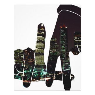 LA hands skyline Letterhead