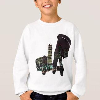 LA hands skyline Sweatshirt