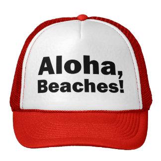 La hawaiana vara el gorra divertido del camionero