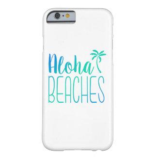 La hawaiana vara la caja de Ombre de la turquesa Funda Para iPhone 6 Barely There