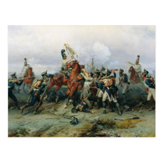 La hazaña del regimiento montado postal