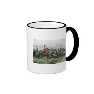 La hazaña del regimiento montado taza de dos colores