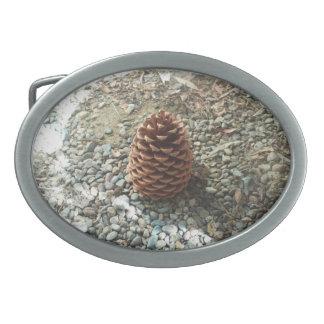 La hebilla del cinturón del cono del pino hebillas de cinturon