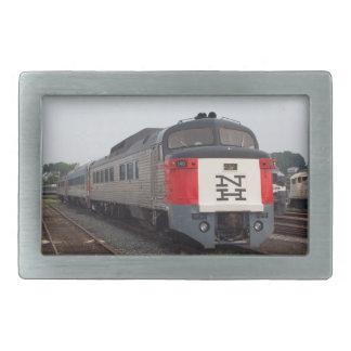 La hebilla del cinturón determinada del tren de hebilla de cinturon rectangular