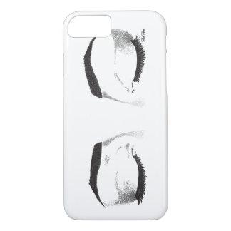 La hembra observa bosquejo funda iPhone 7