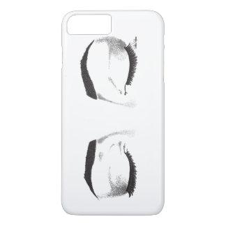 La hembra observa el bosquejo (el personalizable) funda iPhone 7 plus