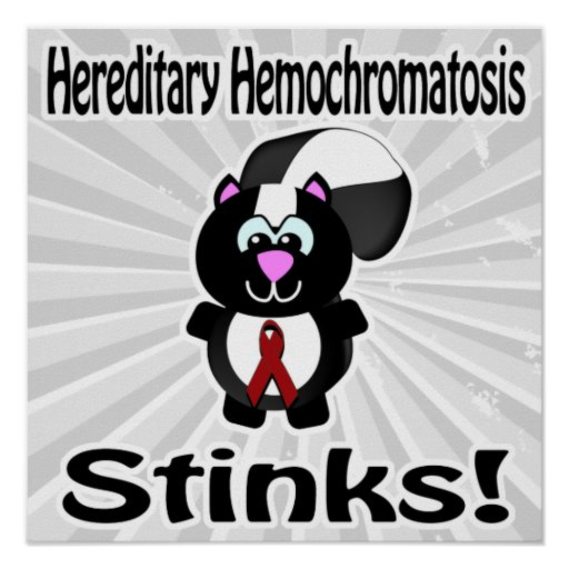 La hemocromatosis hereditaria apesta conciencia de posters