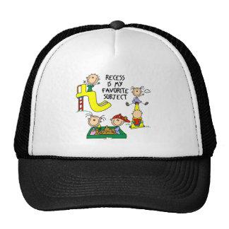 La hendidura es mi gorra de béisbol sujeta preferi