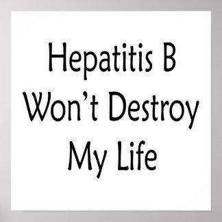 La hepatitis B no destruirá mi vida Poster