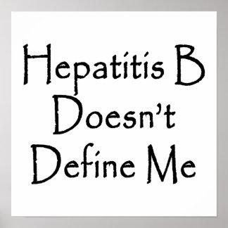 La hepatitis B no me define Posters