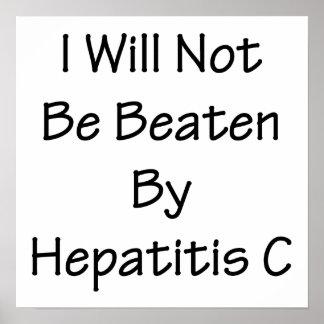 La hepatitis C me no batiré Poster