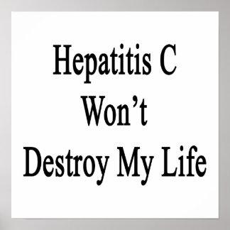 La hepatitis C no destruirá mi vida Poster