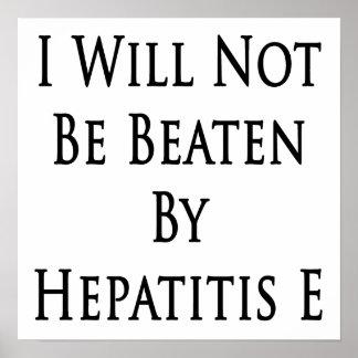 La hepatitis E me no batiré Poster