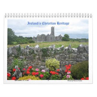 La herencia cristiana de Irlanda Calendarios