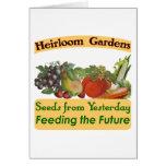 La herencia cultiva un huerto refrán verde