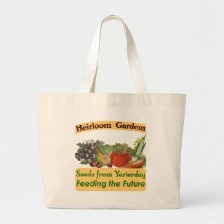 La herencia cultiva un huerto refrán verde bolsa tela grande
