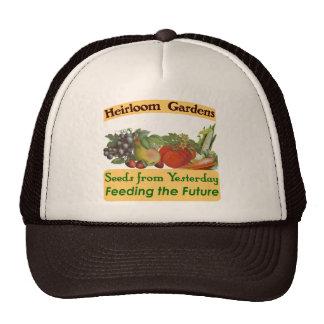 La herencia cultiva un huerto refrán verde gorras de camionero