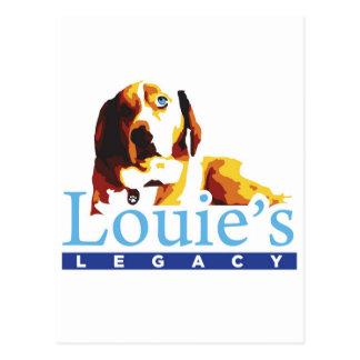 La herencia de Louie Postales