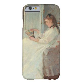 La hermana del artista en una ventana, 1869 funda para iPhone 6 barely there