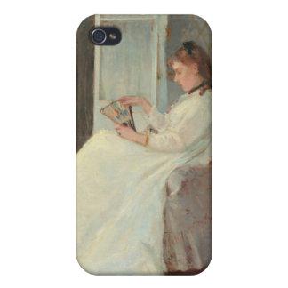 La hermana del artista en una ventana, 1869 iPhone 4/4S funda