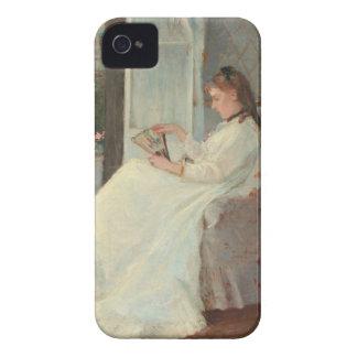 La hermana del artista en una ventana, 1869 iPhone 4 fundas