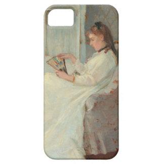 La hermana del artista en una ventana, 1869 iPhone 5 carcasa