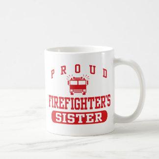 La hermana del bombero taza clásica