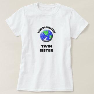 La hermana gemela más grande del mundo remera