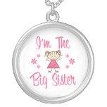 La hermana grande colgante personalizado