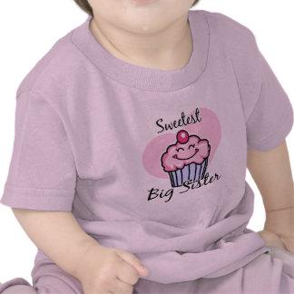 La hermana grande más dulce camiseta