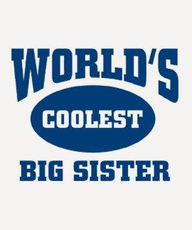 La hermana grande más fresca camiseta