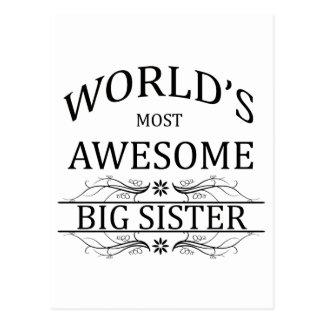 La hermana grande más impresionante del mundo postal