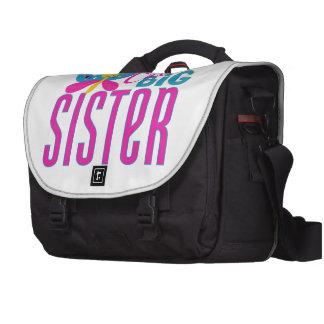La hermana grande más linda - mariposa bolsas de ordenador