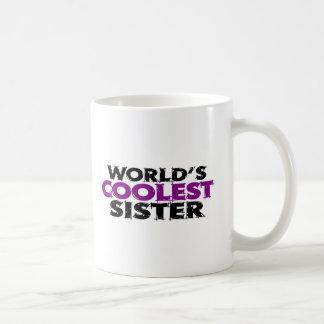 La hermana más fresca de los mundos tazas de café