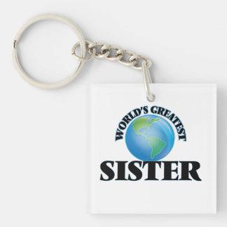 La hermana más grande del mundo llaveros