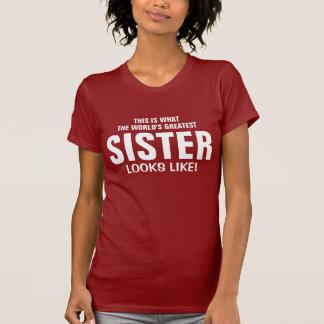 La hermana más grande del mundo playeras