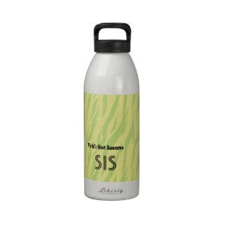 La hermana más impresionante o el SIS del mundo de Botella De Agua Reutilizable