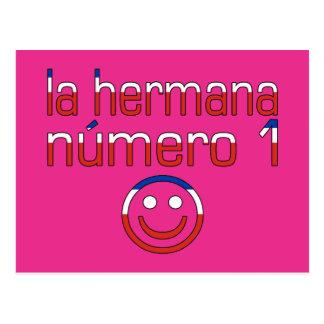La Hermana Número 1 - Number 1 Sister in Chilean Postcard