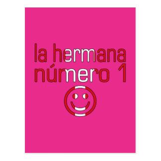 La Hermana Número 1 - Number 1 Sister in Peruvian Postcard