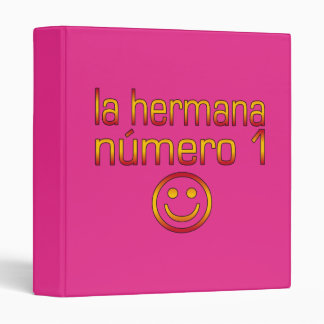 La Hermana Número 1 - Number 1 Sister in Spanish Binder