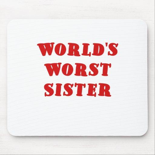 La hermana peor de los mundos tapete de raton