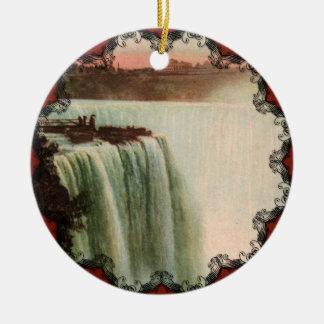 La herradura cae en el ornamento de Niágara Ornamentos De Reyes Magos