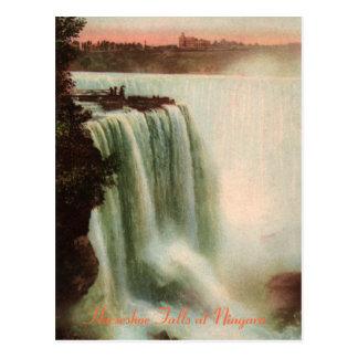 La herradura cae en la postal de Niágara