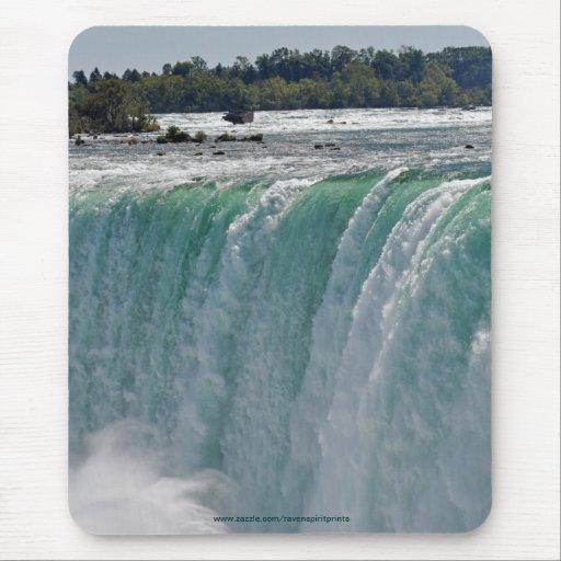 La herradura cae en Niagara Falls, frontera Canadá Tapete De Ratones